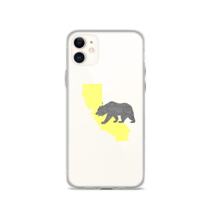California Bear iPhone Case - Size: iPhone 11 - Adam Block Design