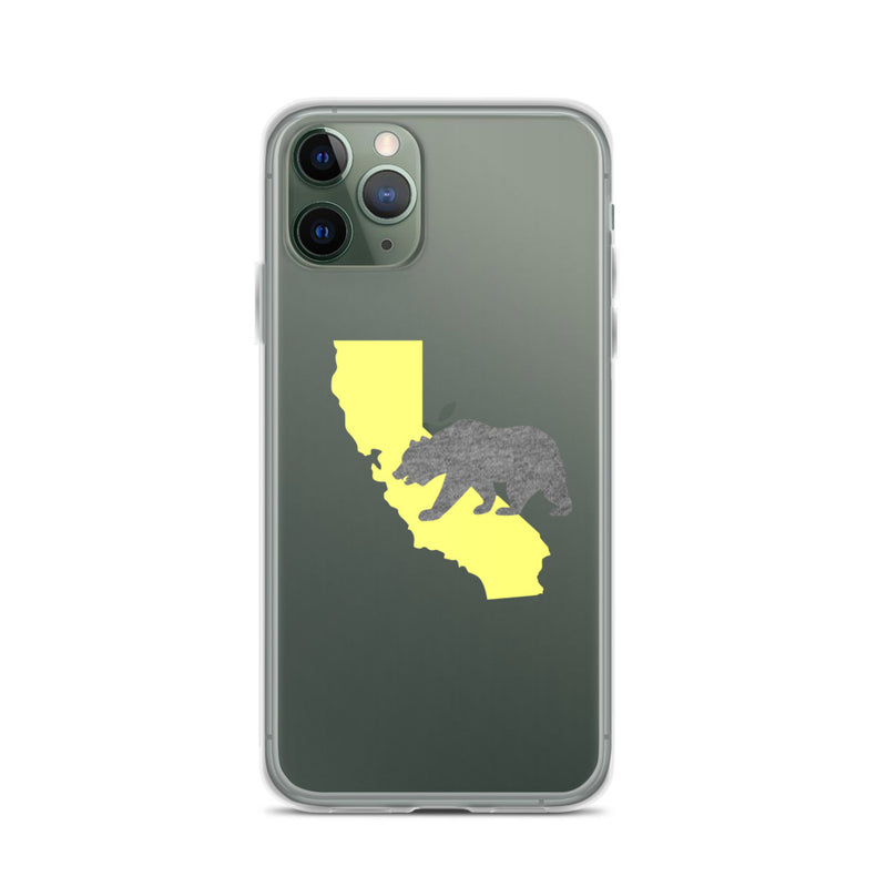 California Bear iPhone Case - Size: iPhone 11 Pro - Adam Block Design