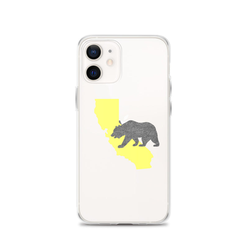 California Bear iPhone Case - Size: iPhone 12 - Adam Block Design
