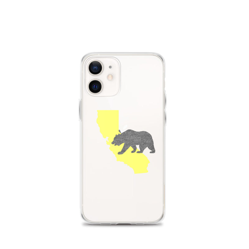California Bear iPhone Case - Size: iPhone 12 mini - Adam Block Design