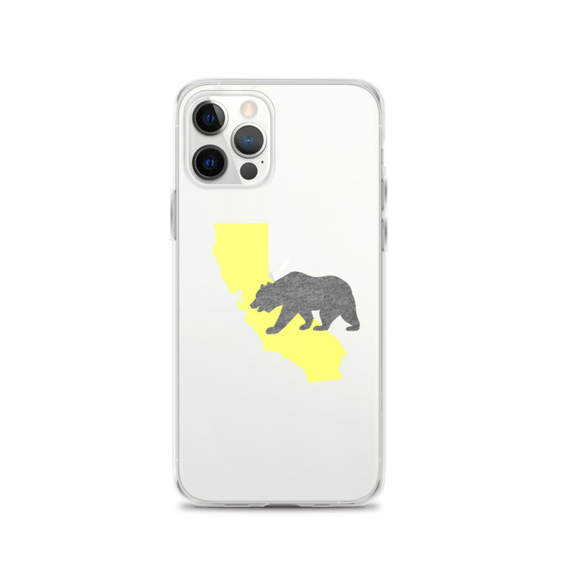 California Bear iPhone Case - Size: iPhone 12 Pro - Adam Block Design