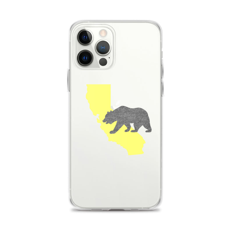 California Bear iPhone Case - Size: iPhone 12 Pro Max - Adam Block Design