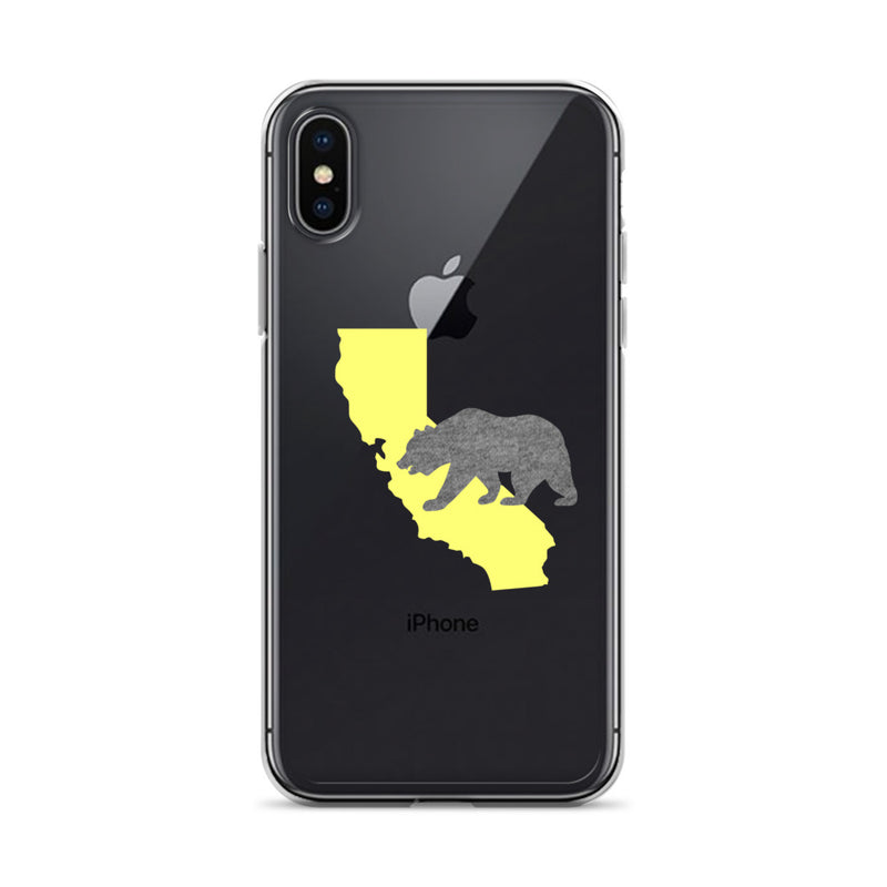 California Bear iPhone Case - Size: iPhone X/XS - Adam Block Design