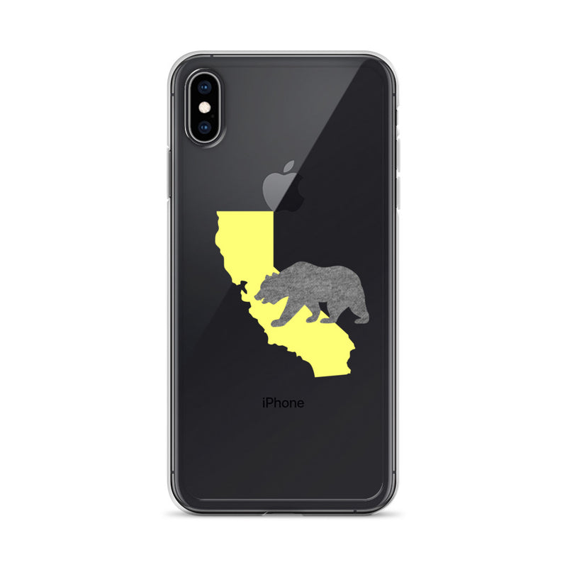 California Bear iPhone Case - Size: iPhone XS Max - Adam Block Design