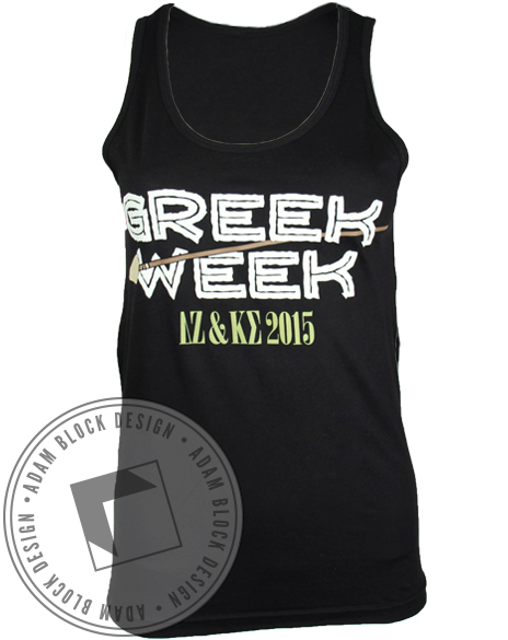 Jumanji Greek Week Tank-gallery-Adam Block Design