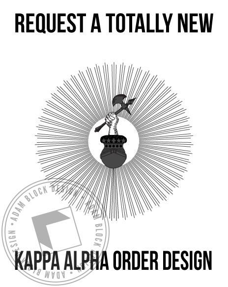 Kappa Alpha Order - New Design-Adam Block Design