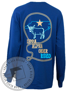 Kappa Alpha Order Rodeo Long Sleeve-Adam Block Design
