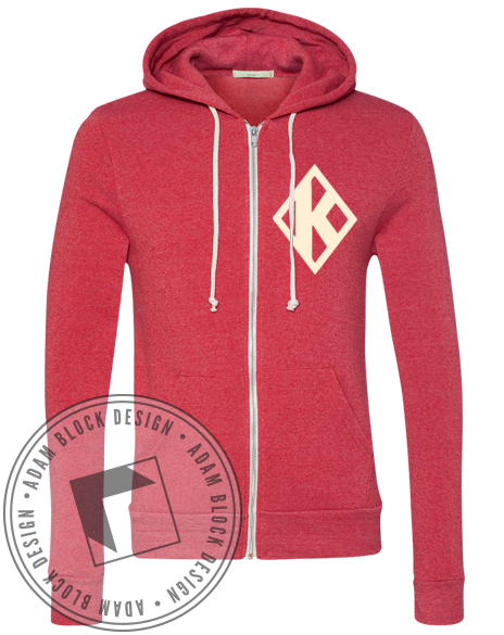 Kappa Alpha Psi Diamond Hoody-gallery-Adam Block Design