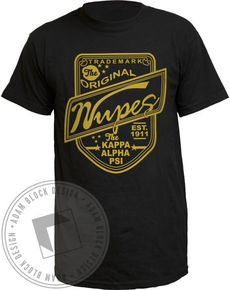 Kappa Alpha Psi Nupes Original Tee-gallery-Adam Block Design