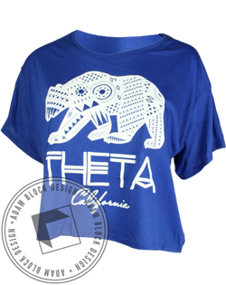 Kappa Alpha Theta Bear Tee-Adam Block Design