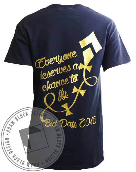 Kappa Alpha Theta Chance Tee-Adam Block Design
