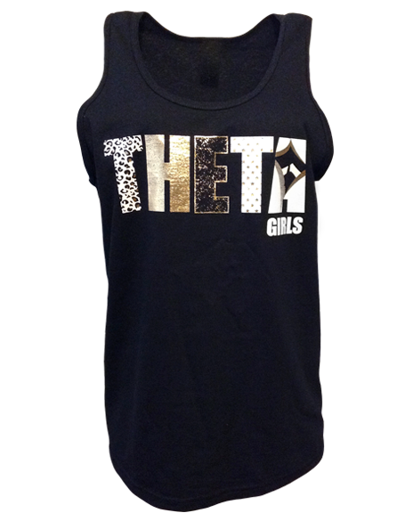 Kappa Alpha Theta Girls Tank-gallery-Adam Block Design
