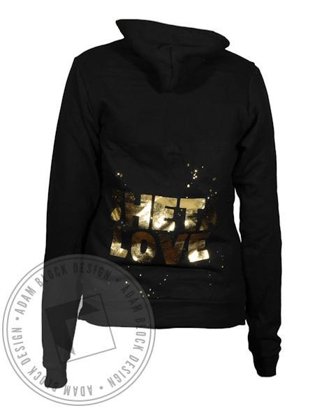 Kappa Alpha Theta Gold Foil Kite Hoody-Adam Block Design