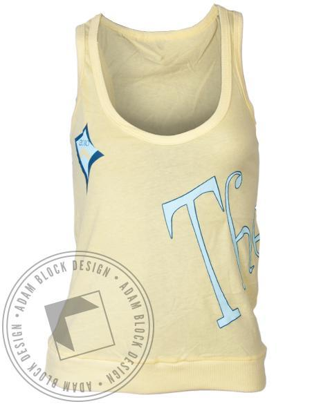 Kappa Alpha Theta Kite Casa Tank-Adam Block Design