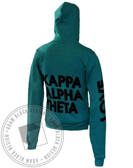 Kappa Alpha Theta Kite Hoody-Adam Block Design