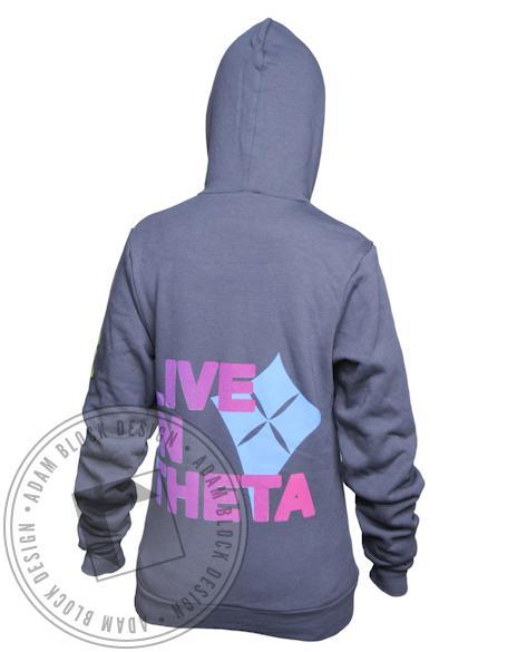 Kappa Alpha Theta Love Hoody-gallery-Adam Block Design