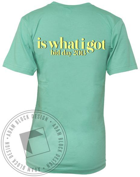 Kappa Alpha Theta Lovin' V-neck-Adam Block Design