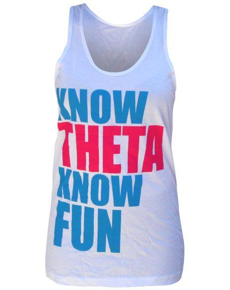 Kappa Alpha Theta No Fun Tank-Adam Block Design
