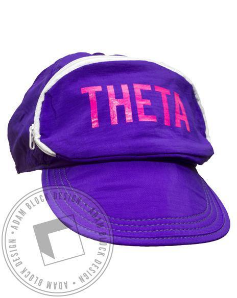 Kappa Alpha Theta Purple Cap-Sac-gallery-Adam Block Design