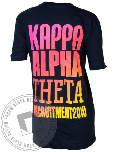 Kappa Alpha Theta Recruitment V-Neck-gallery-Adam Block Design