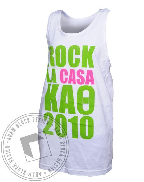 Kappa Alpha Theta Rock La Casa Tank-gallery-Adam Block Design