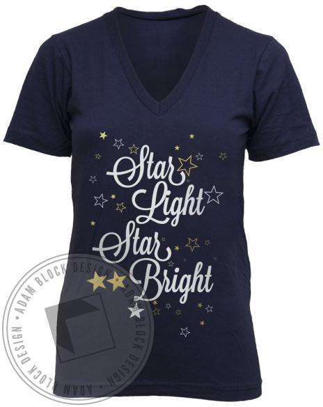 Kappa Alpha Theta Star V-Neck-Adam Block Design