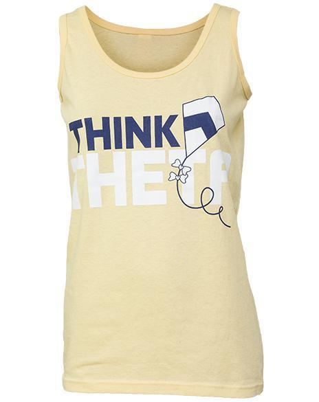 Kappa Alpha Theta Think Theta Right Tank-gallery-Adam Block Design