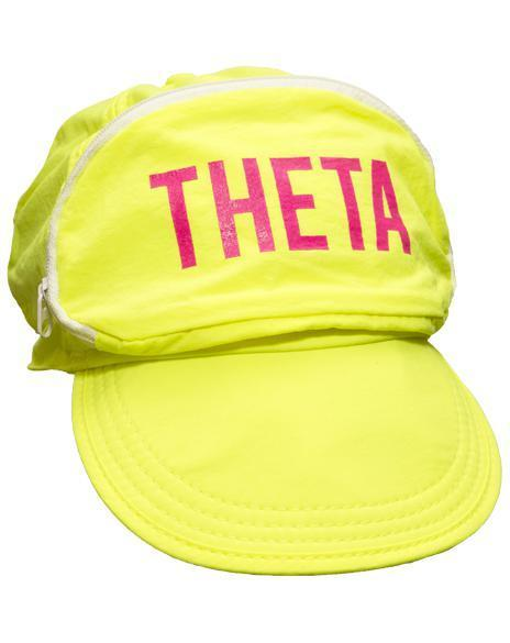 Kappa Alpha Theta Yellow Cap-Sac-Adam Block Design
