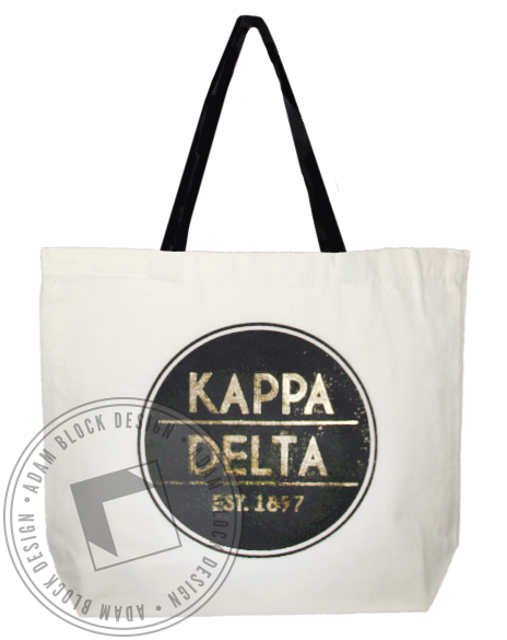 Kappa Delta 1897 Tote Bag-gallery-Adam Block Design