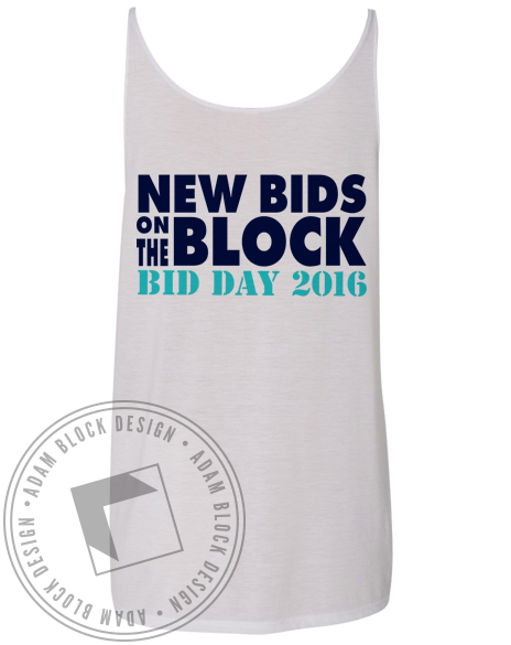 Kappa Delta 90s Bid Day Tank-gallery-Adam Block Design