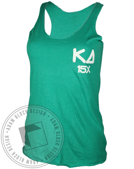 Kappa Delta Annual Prouty Tank Top-Adam Block Design