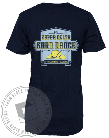 Kappa Delta Barn Dance Tee-gallery-Adam Block Design