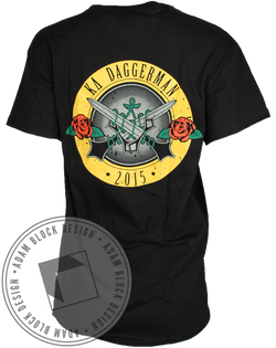 Kappa Delta Daggerman Tee-Adam Block Design