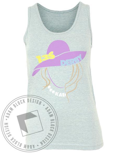 Kappa Delta Epsilon Derby Tank-Adam Block Design