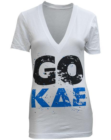 Kappa Delta Epsilon Rush It V-Neck-gallery-Adam Block Design