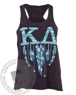 Kappa Delta Feather Tank-Adam Block Design