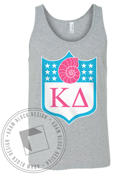 Kappa Delta Football Tank-gallery-Adam Block Design