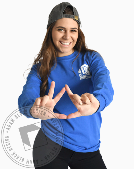 Kappa Delta Homecoming Longsleeve Tee-gallery-Adam Block Design