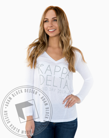 Kappa Delta Honorable Longsleeve-gallery-Adam Block Design