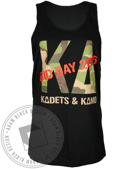 Kappa Delta Kadets and Kamo Tank Top-gallery-Adam Block Design