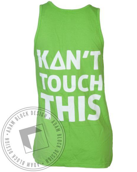 Kappa Delta Kant Touch This Tank-Adam Block Design