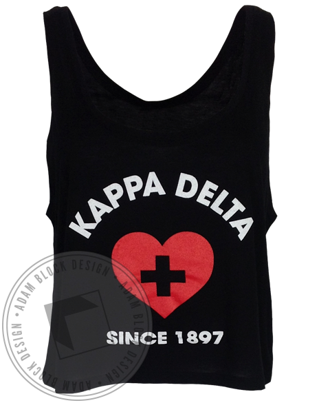 Kappa Delta Lifeguard Tank-gallery-Adam Block Design