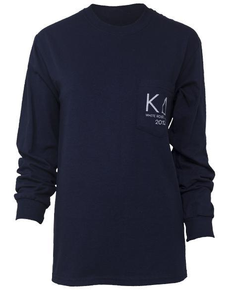 Kappa Delta Pearls Long Sleeve-Adam Block Design