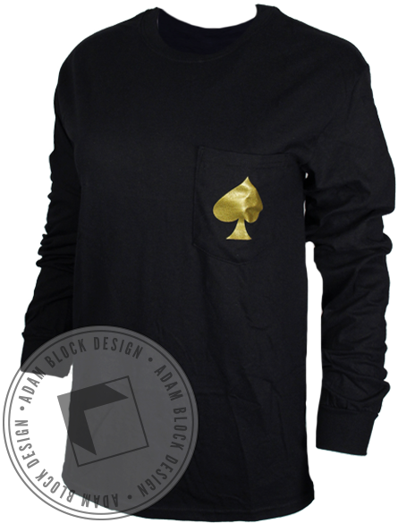 Kappa Delta Spade Long Sleeve-Adam Block Design