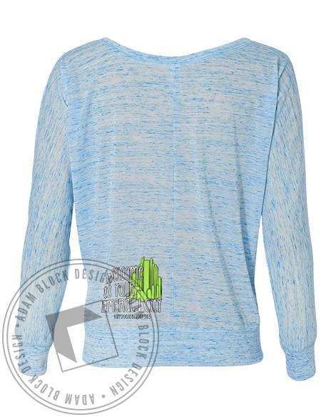 Kappa Delta There's No Place Like KD Long Sleeve-Adam Block Design