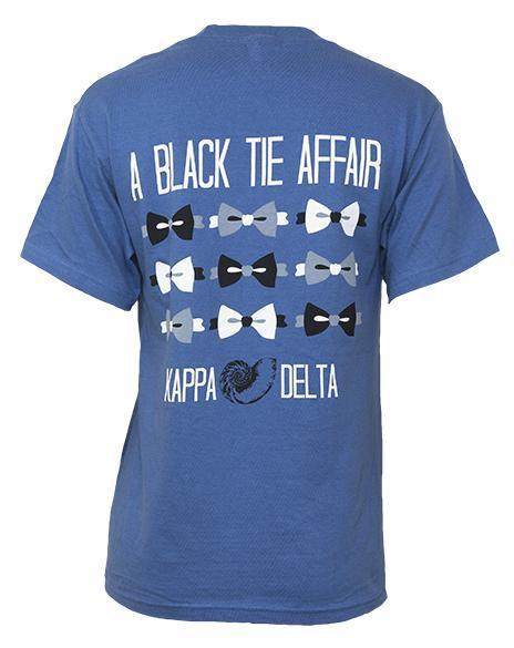 Kappa Delta Tie Shirt-Adam Block Design