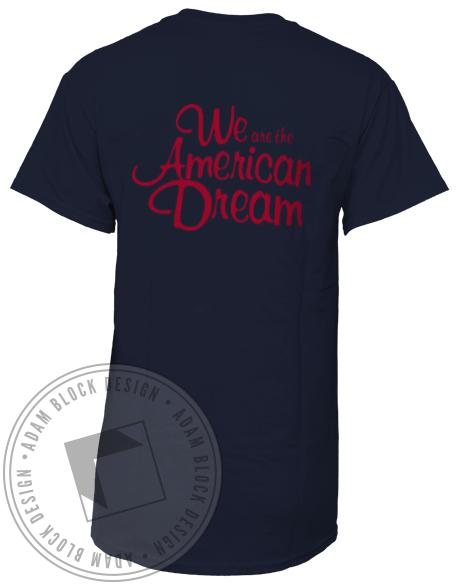Kappa Delta We Are The American Dream Shirt-Adam Block Design