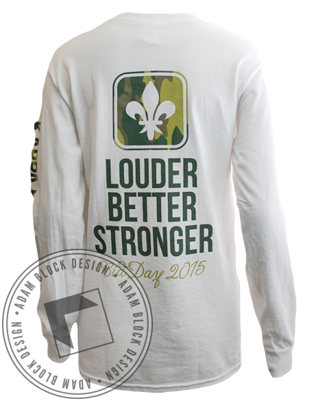 Kappa Kappa Gamma Camo Long Sleeve-Adam Block Design