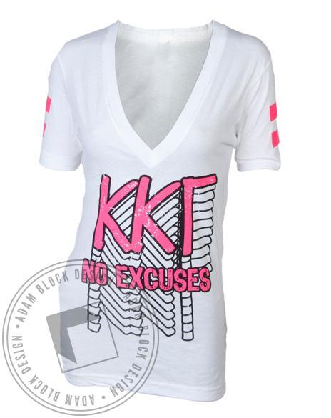 Kappa Kappa Gamma Champion V-Neck-Adam Block Design