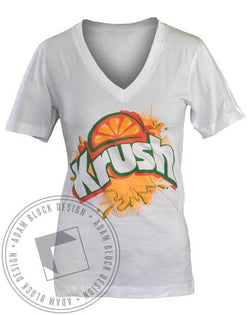 Kappa Kappa Gamma Crush V-Neck-Adam Block Design